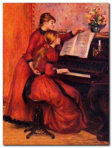 Урок фортепиано на хоровом отделении - 0ef2